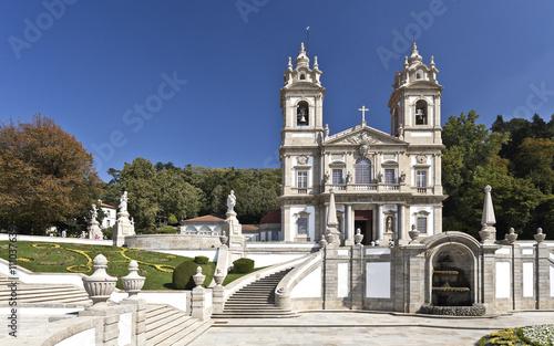 Zdjęcia na płótnie, fototapety, obrazy : Braga Basilica of Bom Jesus