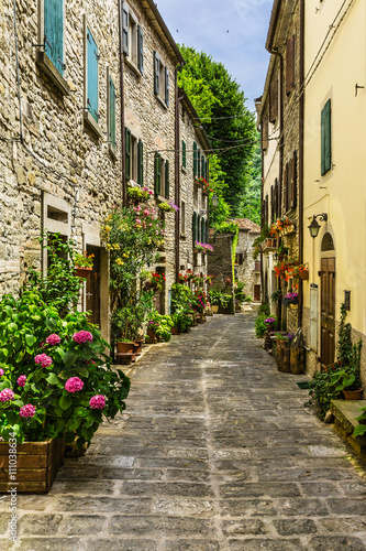 street provincial Italy