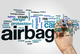 Airbag word cloud