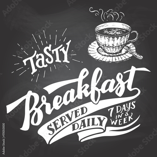 Tasty breakfast served daily, seven days in a week Poster