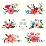 Floral bouquet collection