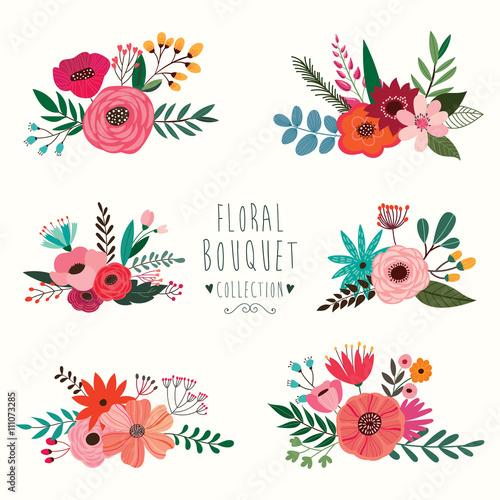 Floral bouquet collection - 111073285