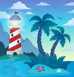 Tropical island theme image 5