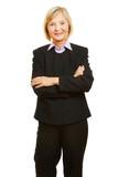 Seniorin als Geschäftsfrau