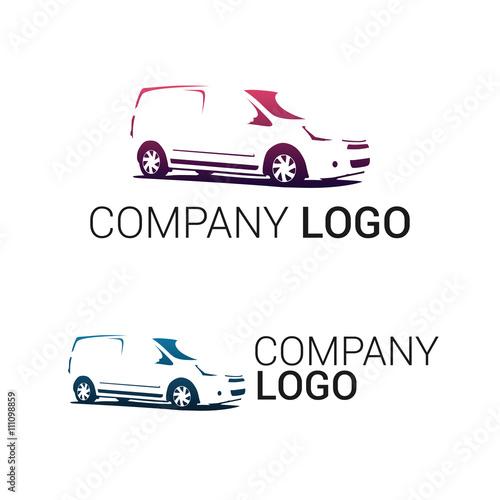 d8b2fa2b6f Car repair or delivery service label. Vector logo design template. Concept  for automobile repair