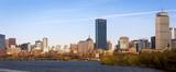 Panoramic view of Boston in Massachusetts, USA.