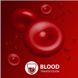 Vector background blood