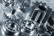 titanium cogs and gear parts titanium and steel for the aerospace industry