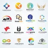 Logo set,Logo collection,creative logo set,vector logo template