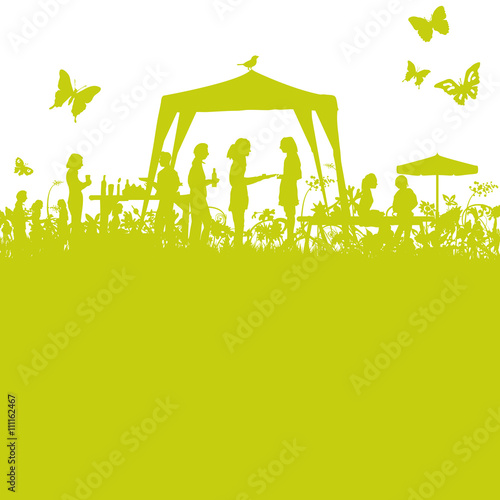 Gartenfest im Grünen