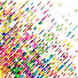 Abstract colorful moving lines, vector background - 111181243