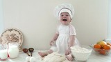 baby in the kitchen 4