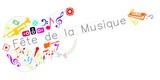 Fête de la musique multicolore