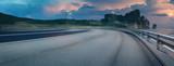 Fototapety Autobahn mit tropischer Aussicht