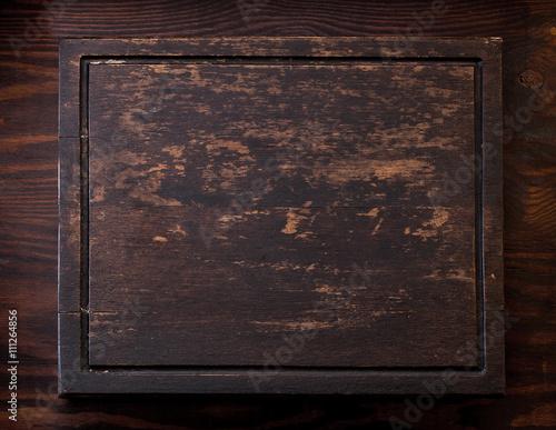 Staande foto Leder Holz taffel Hintergrund