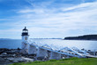 Marshall Point Light in Port Clyde, Maine
