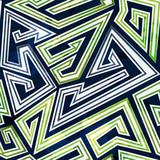 labyrinth seamless pattern