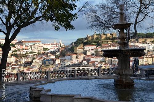 Lisabon miradouro Poster
