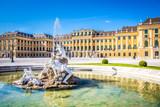 Neptunbrunnen vor Schloß Schönbrunn, Wien - 111299093