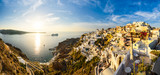 Sunset in Oia, Santorini, Greece - 111306043