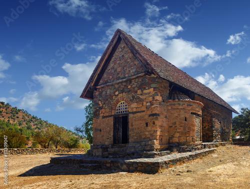 Papiers peints Chypre Church of Panagia tis Asinou. Nikitari. Cyprus.