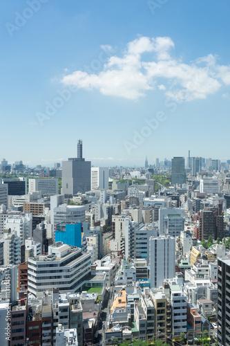 Foto op Plexiglas Japan 駿河台から見る神保町・九段下方面の街並み 3