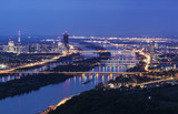 Vienna skyline and Danube River - 111326887