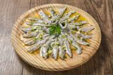 Tapa de anchoas