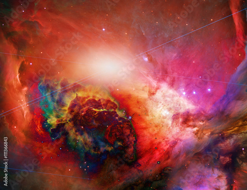Plagát, Obraz Galactic Space