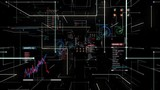 Passes through the digital diagram interface web, CPU chip circuit, grow technology.