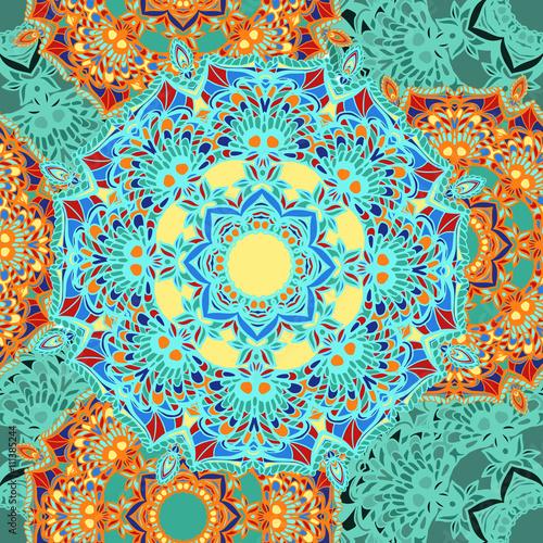 mandala pattern 2 - 111385244