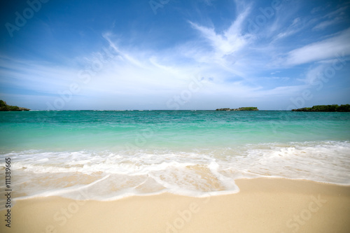 Untouched tropical beach - 111389665