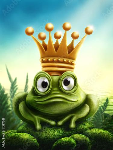 fototapeta na ścianę Frog prince