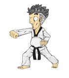 Taekwondo puch. Martial art