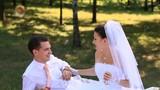 Wedding Bride and groom Outdoors