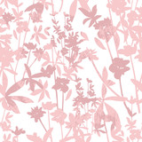 Cute seamless floral pattern. Background  with flowers. Vector i - 111472251