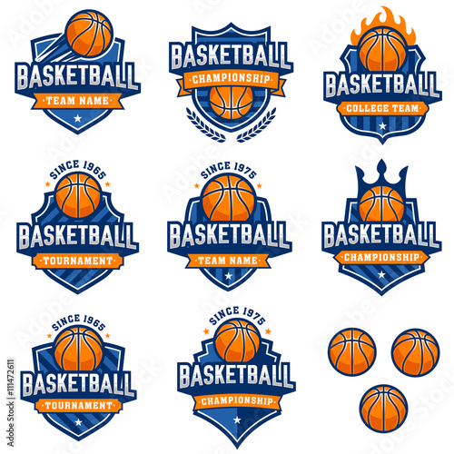 Vector Basketball Logos