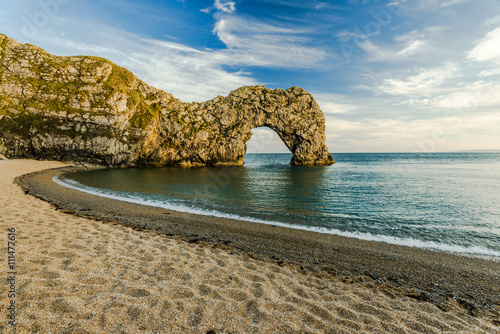 Poster Durdle Door arch in Dorset