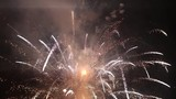 Fireworks Exploding In The Night Sky - Pyrotechnic Festival