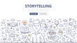 Storytelling Doodle Concept