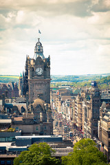 Edimburg - Scotland - Princes Street © Silvano Rebai