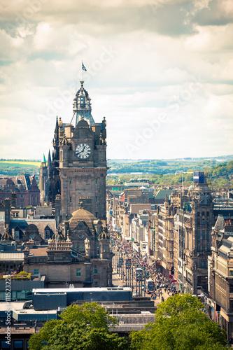 Edimburg - Scotland - Princes Street