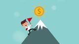 Businessman icon design Video Animation