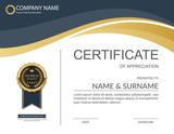 Vector certificate template. - 111550040