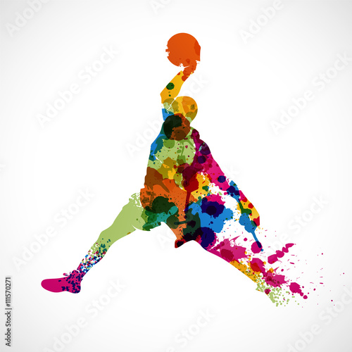 Sliko silhouette sportif