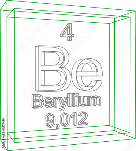 Beryllium buy photos ap images search periodic table of elements beryllium urtaz Image collections