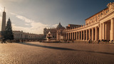 Vatican City and Rome, Italy: St. Peters Square