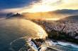 Quadro Rio De Janeiro, sunset over Ipanema beach