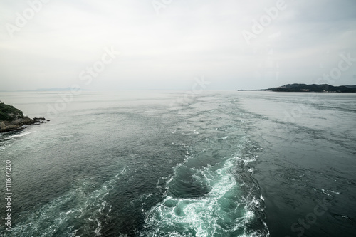 Poster Whirling tides at naruto,tokushima,japan