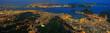 Quadro Rio de Janeiro / Zuckerhut, Guanabara Bucht und Stadtzentrum
